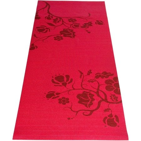 Tone Fitness Red Yoga Mat