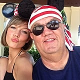 Karlie Kloss shared this adorable snap while celebrating her 21st birthday with her dad at Disneyland — so sweet! Source: Instagram user karliekloss