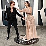 KJ Apa and Barbara Palvin at the Vanity Fair Oscars Party 2020