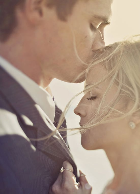 Forehead Kiss  Bride And Groom Photo Ideas  Popsugar Australia Love  Sex Photo 2-8661