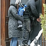 Sandra and Louis Weather the Cold in NYC Together