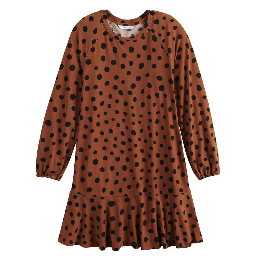 Drop Waist Mini Dress