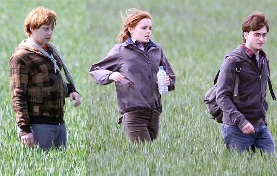 Pictures of Harry Potter Final Scenes Filming