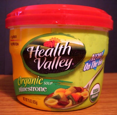 Health Valley Organic Minestrone Soup Review
