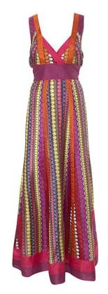 Love it or Hate it: Bright Deco Maxi Dress
