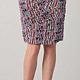 This print evokes a cool tribal-infused vibe, which you should play up with cute gladiator-esque sandals and your favorite white t-shirt. Catherine Malandrino Print Pencil Skirt ($295)