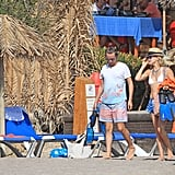 Kate Hudson in a Bikini With Matt Bellamy in Ibiza 2014