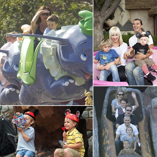 Pictures of Celebrity Families at Disneyland