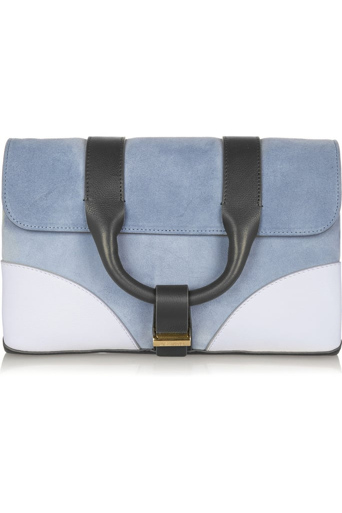 I love how Jason Wu's suede clutch ($895) hints at the season's '70s themes without hitting you over the head. Plus, just think how it'll complement all your Spring and Summer denim. — HM, editor
