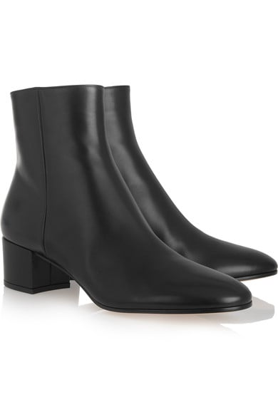 Gianvito Rossi Leather Ankle Boots, $1,165