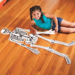 Skeleton Floor Puzzle ($28)
