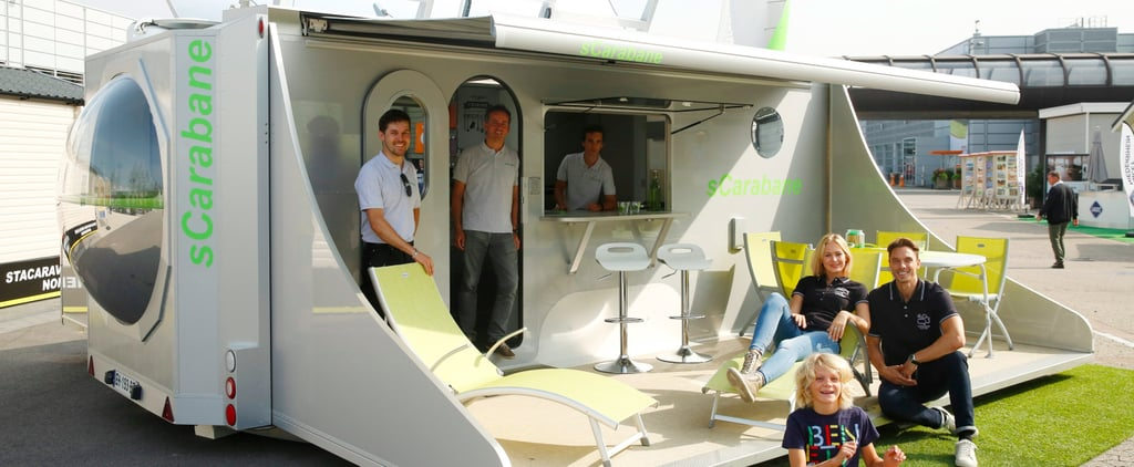 Is This Luxurious, Solar-Powered Camper Real Life or a Vacation Dream?!