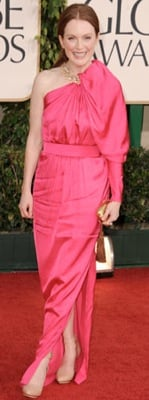 Julianne Moore at the 2011 Golden Globe Awards