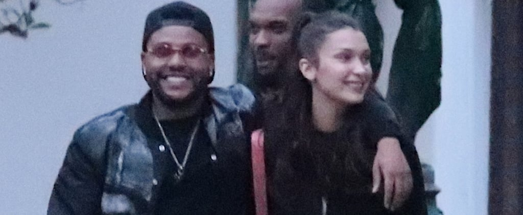 The Weeknd and Bella Hadid Spotted Out in Paris May 2018