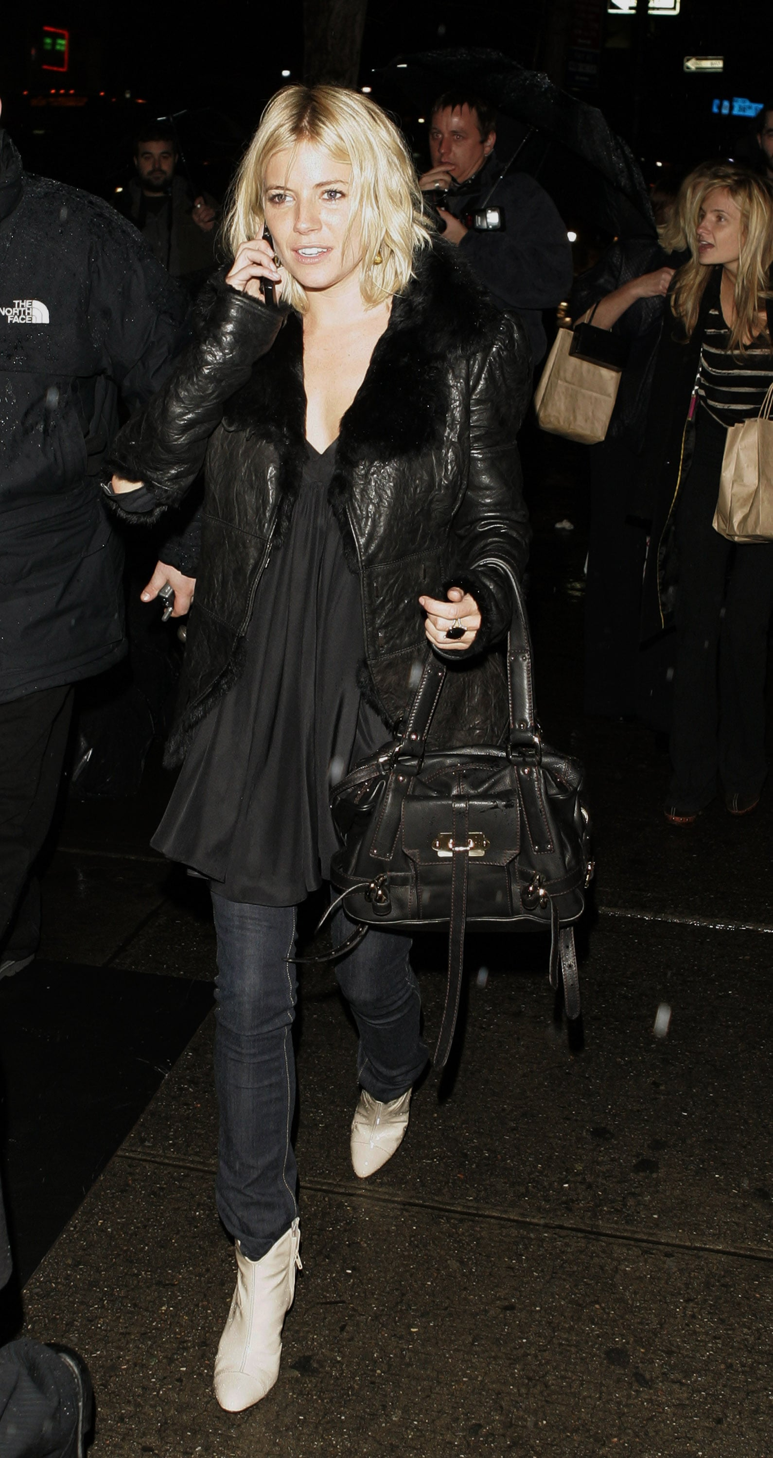 She joined the style crew for Fall Fashion Week in 2007.