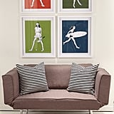 Girls — Cheerleader Decorative Wall Art Framed ($46) Girls — Ballerina Decorative Wall Art Framed ($46) Tennis Girl Decorative Wall Art Framed ($46) Surfer Girl Decorative Wall Art Framed ($46)