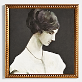 Get the Look: Portrait of a Woman Wall Art