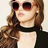9f93ad4abb685 Forever 21 Melt Square Sunglasses Forever 21 Oversized Round Sunglasses ...