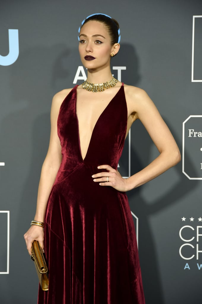 Emmy Rossum at Critics' Choice Awards