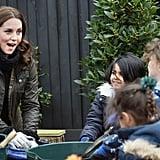 Kate Middleton Visiting Robin Hood Primary School 2017