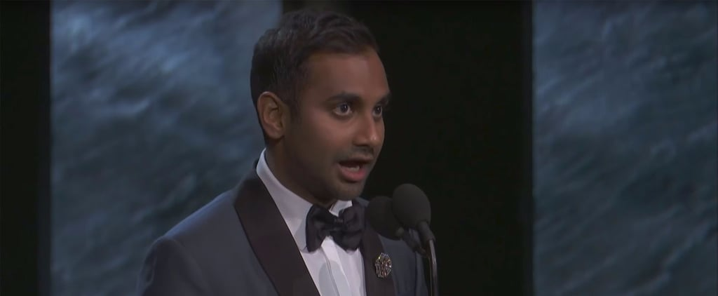 Aziz Ansari Britannia Awards Acceptance Speech Video