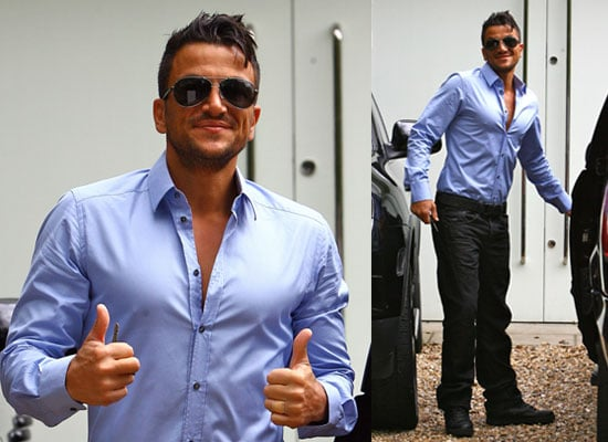 Photos of Peter Andre as It Is Announced He Has His Own TV Chat Show