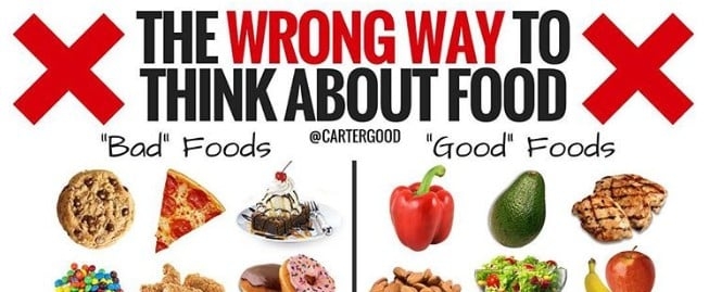 "You Shouldn't Think of Food as ""Good"" or ""Bad"""