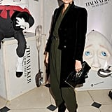 """Kate Moss attended a private viewing of photographer Tim Walker's """"Story Teller"""" exhibit at Somerset House."""