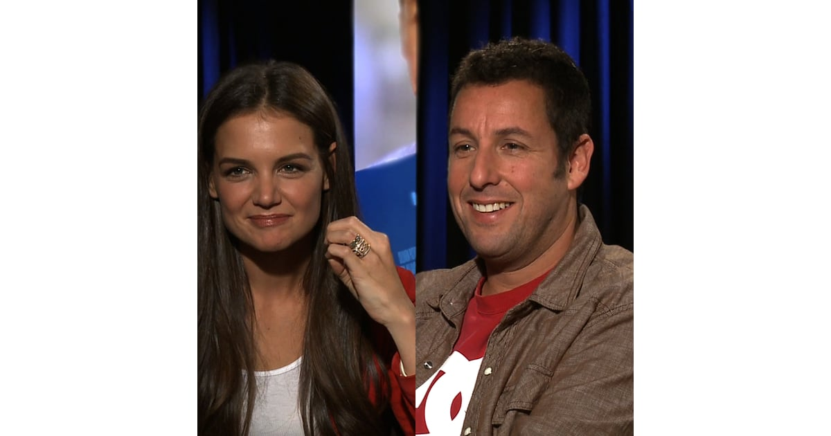 Adam sandler katie holmes jack jill video interview for Jack and jill full movie free