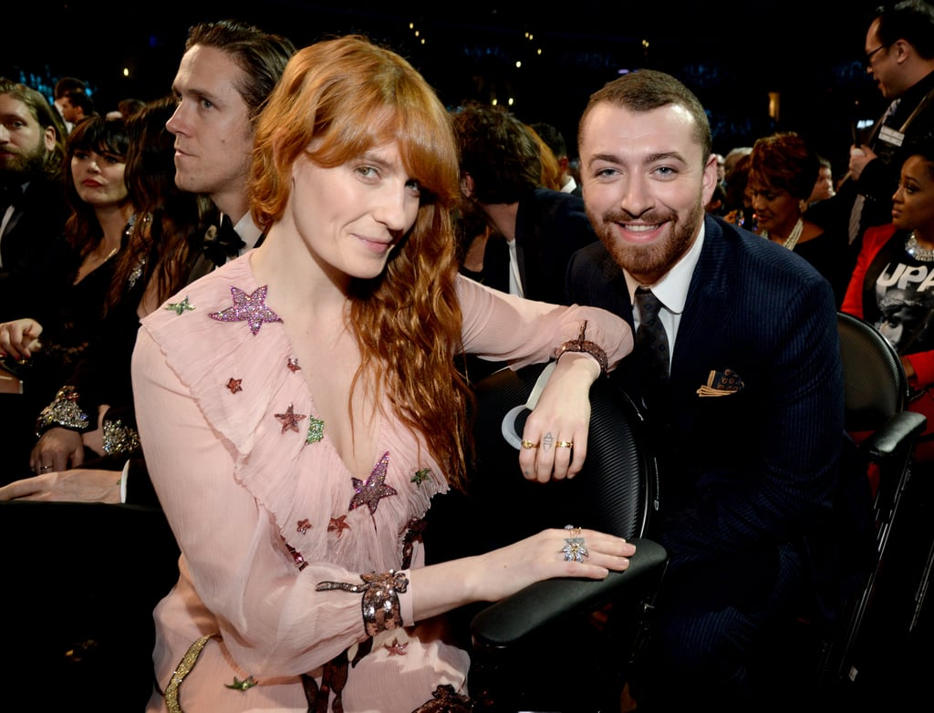 Pictured: Florence Welch and Sam Smith