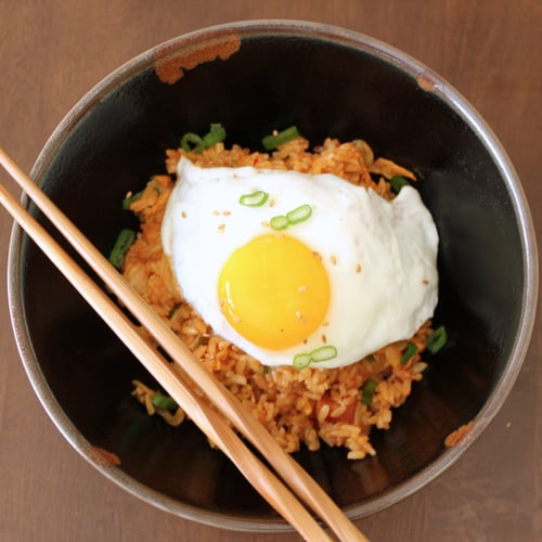 Kimchi Fried Rice Recipe Popsugar Food