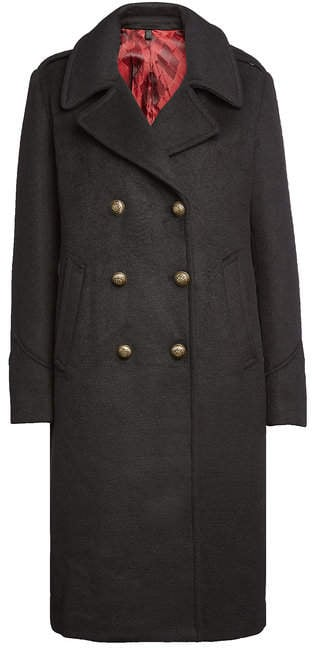 Blauer Wool Coat