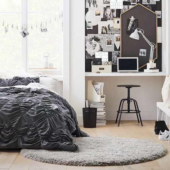Performance Round Luxe Shag Rug