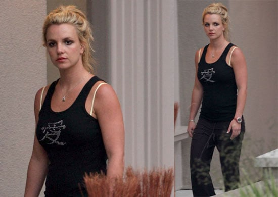 Photos of Britney Spears Going to the Gym in LA