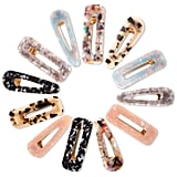 Cridoz Acrylic Resin Hair Barrettes