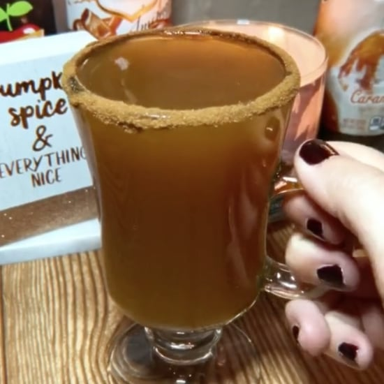 Pumpkin Caramel Hard Cider Cocktail Recipe