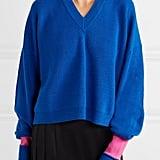 Maison Margiela Two-Tone Wool-Blend Sweater