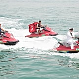 No, You're Not Dreaming: That's a KFC Yacht in Dubai