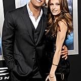 He has a great relationship with girlfriend Lauren Hashian.