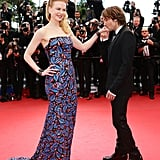 Keith Urban swept Nicole Kidman off her feet at the Cannes Film Festival premiere of Inside Llewyn Davis on Sunday.