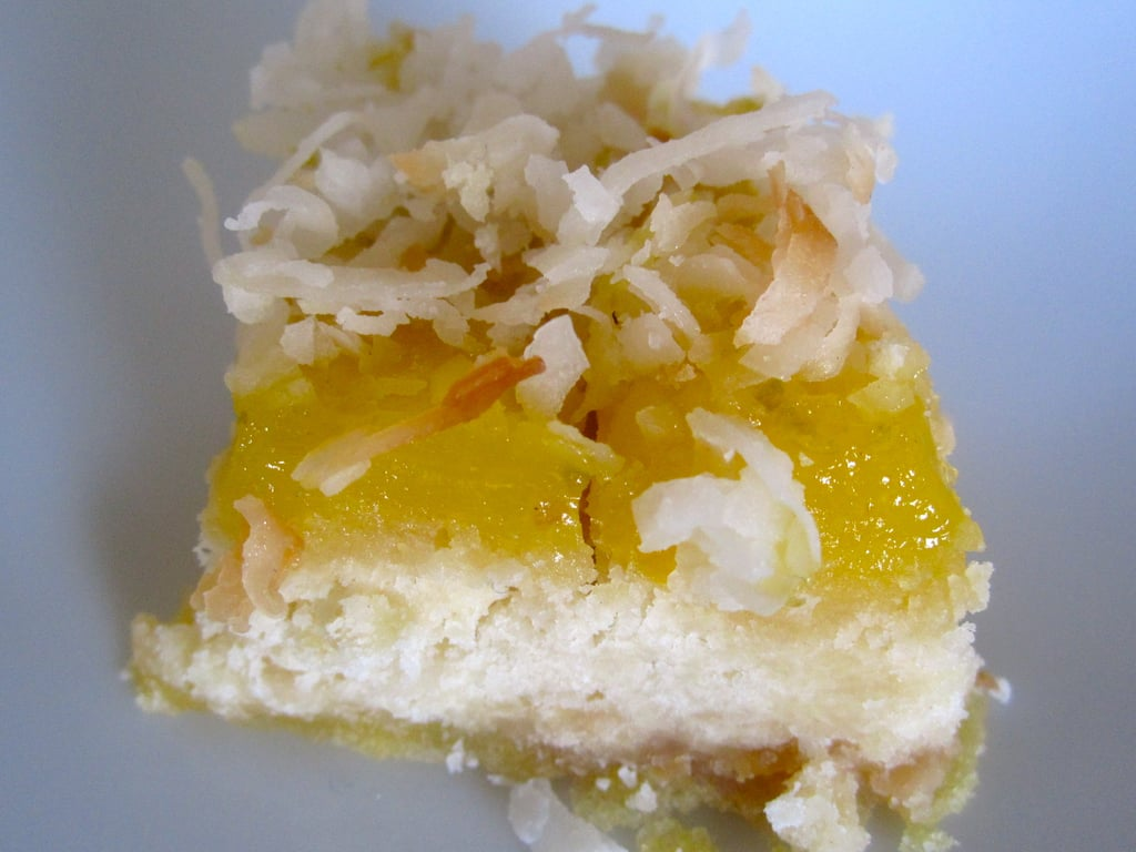 Easy Coconut Lime Square Recipe