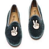 Del Toro Peace Smoking Slippers ($325)