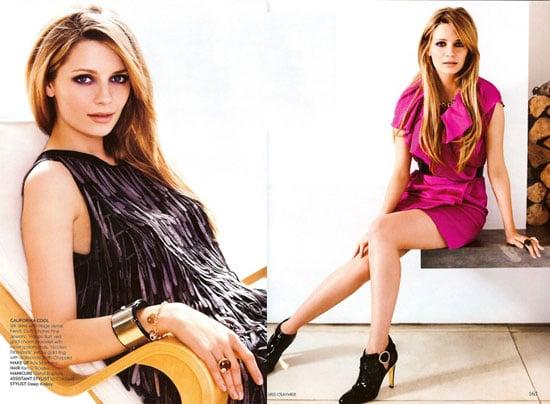 Mischa Barton in Vogue India