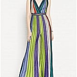 M Missoni Lurex Stripe Plunging Neckline Jumpsuit ($900)