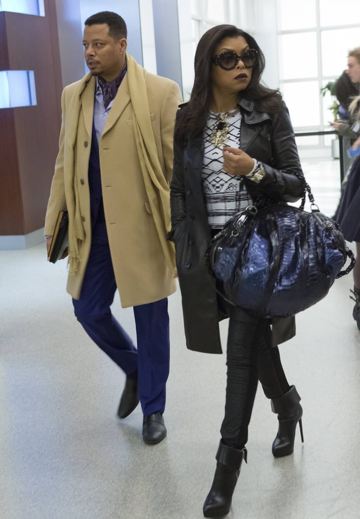 Lucious and Cookie Lyon From Empire