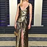 Sophie Turner at the 2019 Vanity Fair Oscar Party