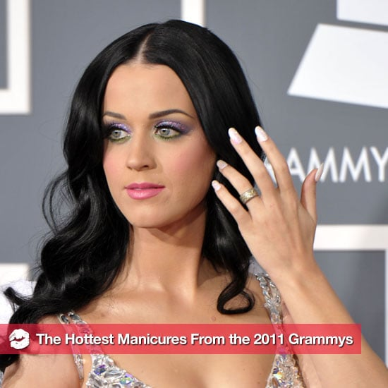 Pictures of the Stars' Manicures at the 2011 Grammys 2011-02-13 21:10:14