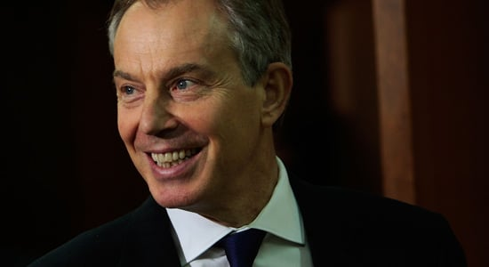 Tony Blair Lined Up for Louis Vuitton Position with Bernard Arnault
