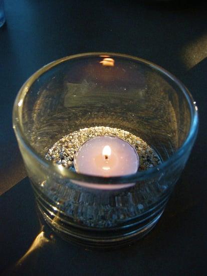 Elegant Summer Centerpiece: Beach-Inspired Votive Candles