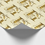 Harry Potter Aguamenti Hufflepuff Graphic Wrapping Paper